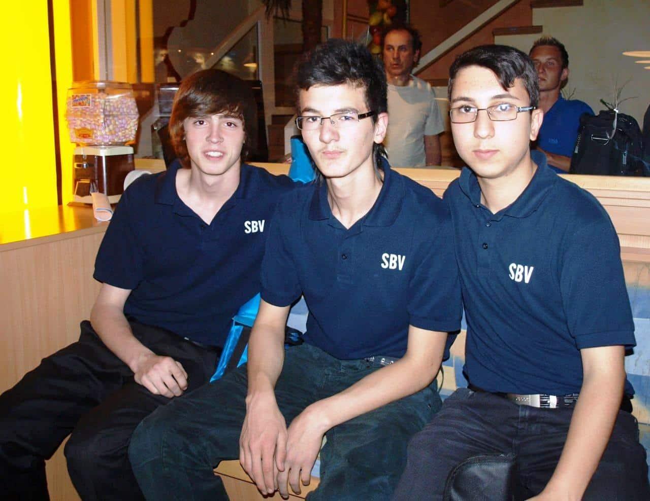 die Jugendmannschaft der PTS Hallein