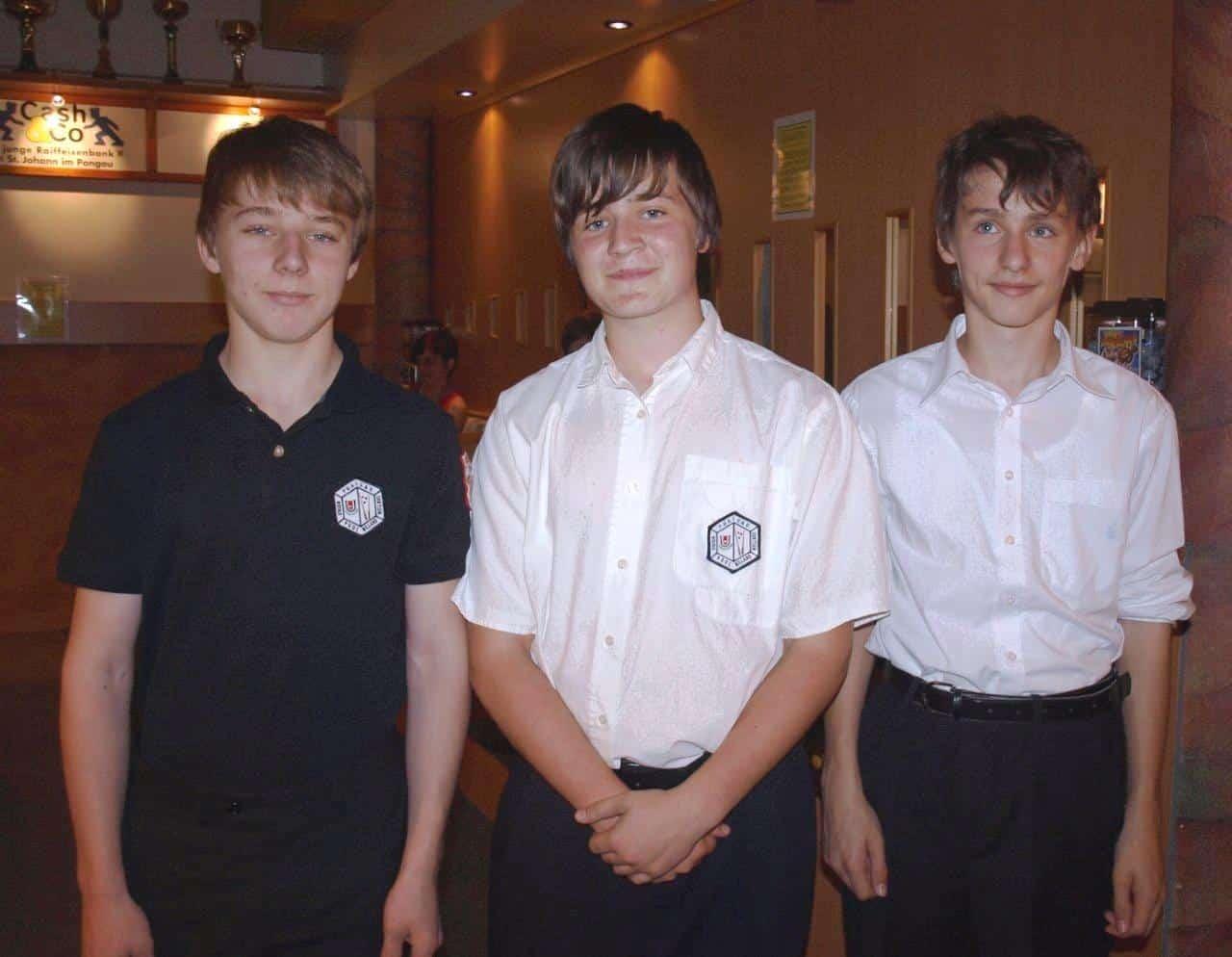 die Jugendmannschaft des Pool Teams Thalgau