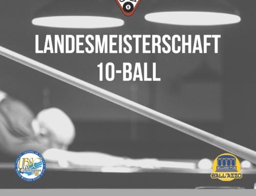 10-Ball LM Allgemeine Klasse am 25.05.2019 im Billard Pub Ball'azzo