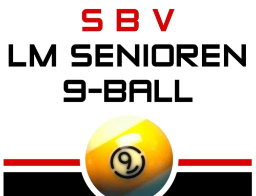 Senioren LM 9-Ball am 23.11. in Thalgau – Beginn 13:00 Uhr