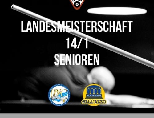 Senioren LM 14/1, 01.02.2020 im Ballazzo